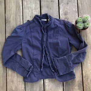 Halogen Ruffled Jacket